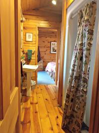 Bill's Cabin Bathroom/Shower