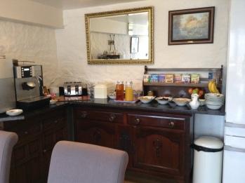 Granary Kitchen Self service area