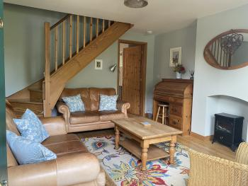 Old Post Cottage sitting room