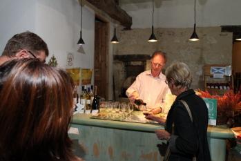 Dégustation des vins biodynamiques du domaine