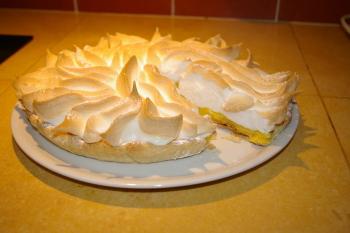 A la table d'hôtes : tarte au citron meringuée