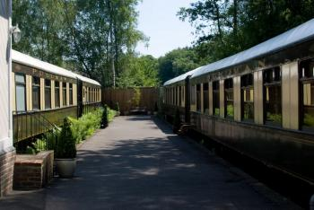 The four Pullman carriages