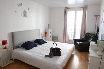 Appartement 1er étage, 1 chambre, Dieppe - Chambre