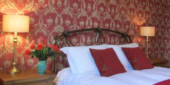 Luxury king-size, our Tomatin room