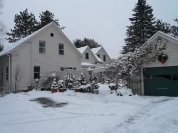 Le Vatout in winter