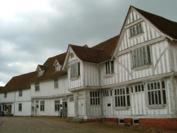 The medieval Town of Lavenham just 3 miles away