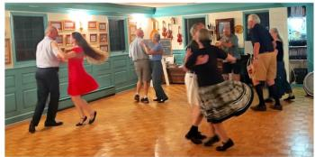 Colonial Dancing Tuesday evenings in ballroom.
