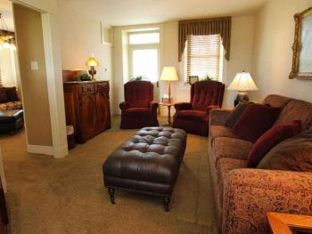 Family room in the guest house