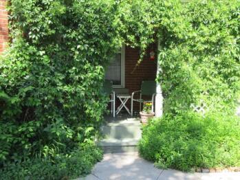 Patio Area Private to Garden Suite