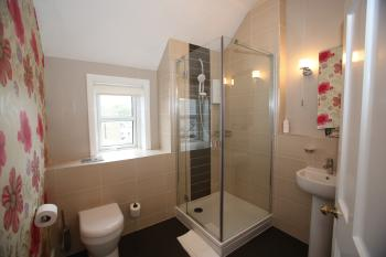 Room 5 en suite - walk in shower