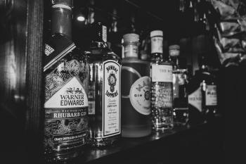 Range of gins available