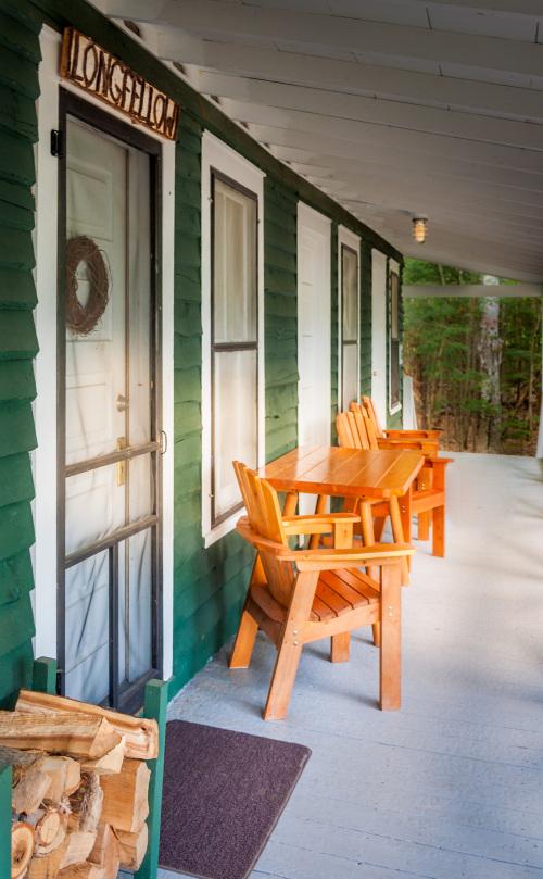 Longfellow Cabin -- Lake View