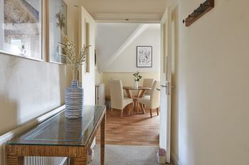 Boutique Balcony Apartment at Bodorgan Manor - Entrance and hallway