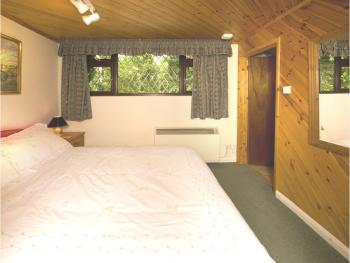 Bedroom in self catering cottage