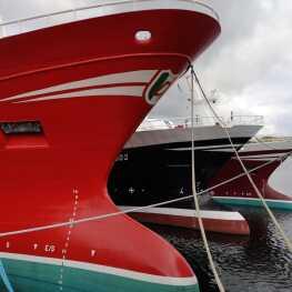Killybegs boats at the dock