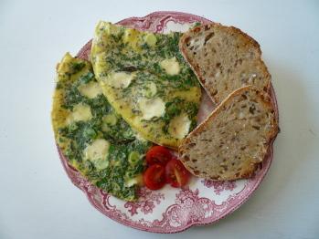 Cheesy Eggs