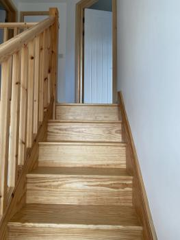 Staircase to your studio room