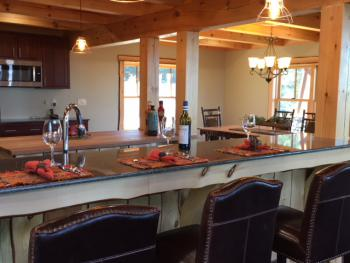 Mountain Top Lodge Kitchen