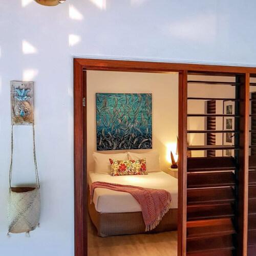 Queen-Standard-Private Bathroom-Hibiscus Room - Standard Rate