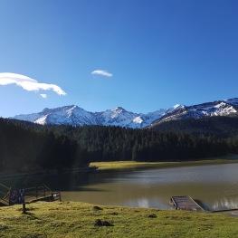 Lac de payolle aux environs du chiroulet
