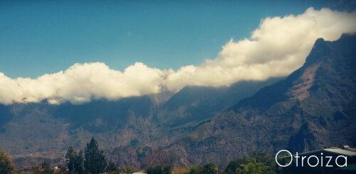 Chambre Triple avec vue montagne