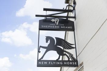 New Flying Horse Logo