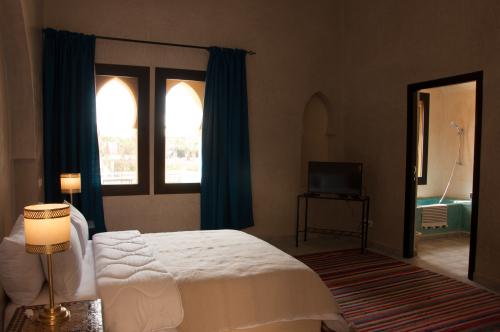Suite-de Luxe-Salle de bain-Patio-Suite Junior RDC