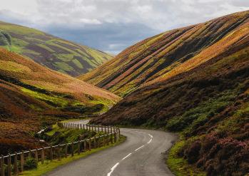 Mennock Pass to Scotland's Highest Village