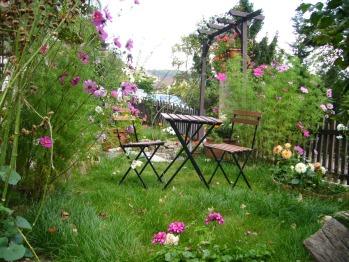 Petite terrasse privative pour chaque chambre