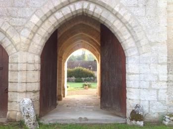 Ancienne entrée des calèches
