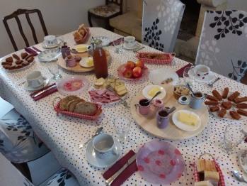 petit-déjeuner maison et locavore