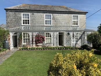 The Coswarth House garden