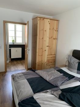 Apartment-Deluxe-Ensuite Bad-Blick auf den Hof - Standardpreis