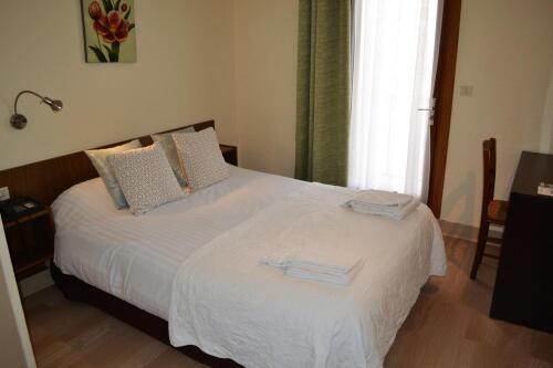 Double-Economie-Salle de bain privée séparée-Vue ville-Chambre Economique