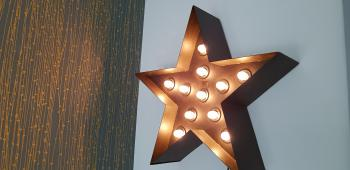 A star view in the house
