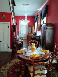 Dining area of The Claiborne House