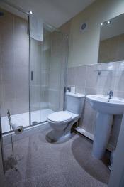 Twin Room Bathroom with Shower