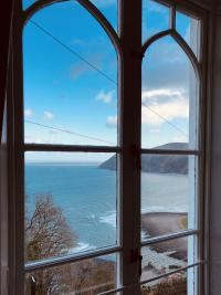 Sea View from Superior Family Suite Master King bedroom