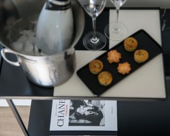 Chambre N°5 accueil champagne