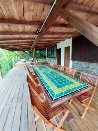 Terrasse devant la chambre 4