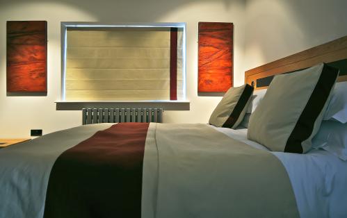 Room 3 - Rear View -  King Ensuite - Luxury Bathroom