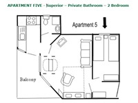 Apartment 5 - Layout