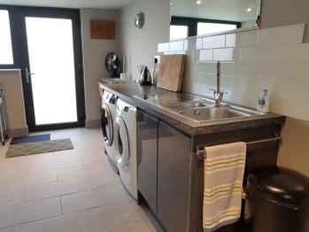 Utility Room with both Washing Machine & Tumble Dryer