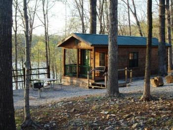 Cabin-Shared Bathroom-Standard-Lake View-Camper Cabin