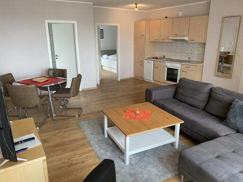 Apartment-Familie-Eigenes Badezimmer-Meerblick