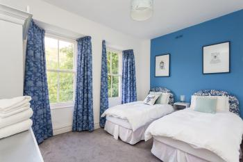 Mackintosh bedroom as a twin