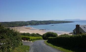 Fintra blue flag beach near Killybegs