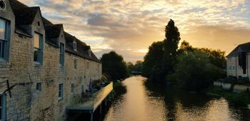 Riverside Apartments of Stamford  - River views from Lily Pad and Kingfisher