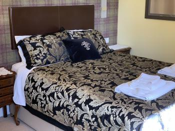 The King Size Bed in the House Double Room