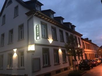 Hotel Jakobslust bei Nacht